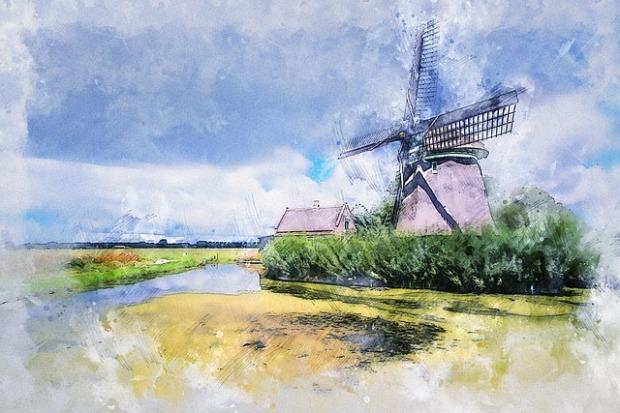 Brigitte Werner on Pixabay windmill-3901896_640